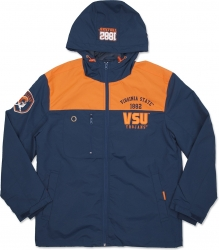 View Buying Options For The Virginia State Trojans S3 Mens Windbreaker Jacket