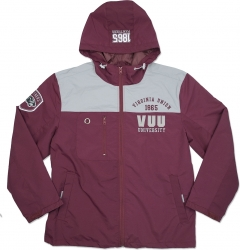 View Buying Options For The Virginia Union Panthers S3 Mens Windbreaker Jacket