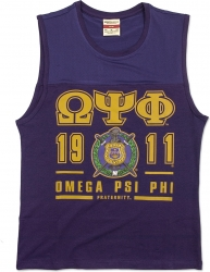 View Buying Options For The Omega Psi Phi Divine 9 S2 Mens Tank Top