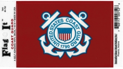 View Buying Options For The US Coast Guard Anchor Logo Car Decal Sticker [Pre-Pack]