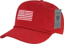 View Buying Options For The RapDom USA Flag 5 Panel Mens Golf Cap