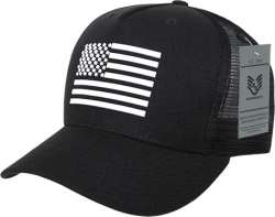 View Buying Options For The RapDom Rubber US Flag 5 Panel Mens Trucker Cap