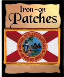 View Buying Options For The Florida State Flag Iron-On Patch [Pre-Pack]