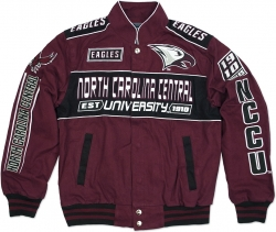 View Buying Options For The North Carolina Central Eagles S11 Mens NASCAR Racing Twill Jacket