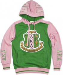 View Buying Options For The Alpha Kappa Alpha 2-Tone Divine 9 S3 Pullover Ladies Hoodie