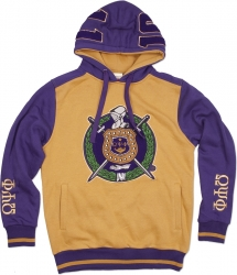View Buying Options For The Omega Psi Phi 2-Tone Divine 9 S3 Pullover Mens Hoodie