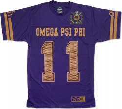 View Buying Options For The Omega Psi Phi Divine 9 Mens Jersey Tee