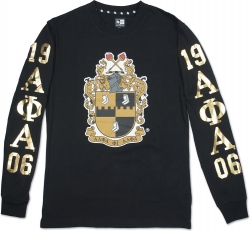 View Buying Options For The Alpha Phi Alpha Divine 9 Mens Long Sleeve Tee