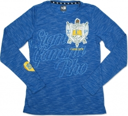 View Buying Options For The Sigma Gamma Rho Divine 9 Ladies Long Sleeve Tee