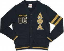 View Buying Options For The Alpha Phi Alpha Divine 9 S2 Mens Cardigan