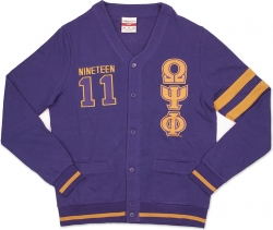 View Buying Options For The Omega Psi Phi Divine 9 S2 Mens Cardigan