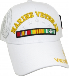 View Buying Options For The Marine Vietnam Veteran Ribbons & Stars Shadow Mens Cap