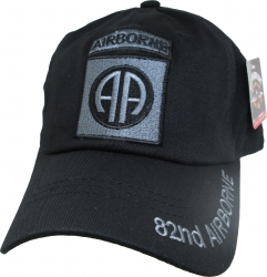 View Buying Options For The 82nd Airborne Tone-On-Tone Relaxed Cotton Mens Cap