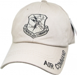 View Buying Options For The Strategic Air Command Tone-On-Tone Relaxed Cotton Mens Cap