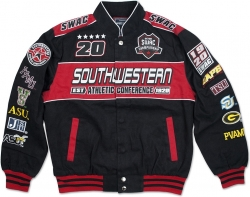 View Buying Options For The SWAC S4 Mens NASCAR Racing Twill Jacket