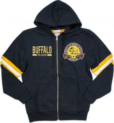 View Buying Options For The Big Boy Buffalo Soldiers Mens Zip-Up Hoodie Jacket