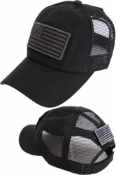 View Buying Options For The US Flag Velcro Patch Meshback Mens Cap