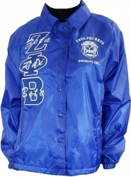 View Buying Options For The Buffalo Dallas Zeta Phi Beta Crest Ladies Crossing Line Jacket