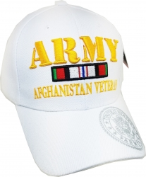 View Buying Options For The Army Afghanistan Veteran Ribbon Mens Cap