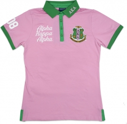 View Buying Options For The Alpha Kappa Alpha Divine 9 S4 Ladies Polo Shirt