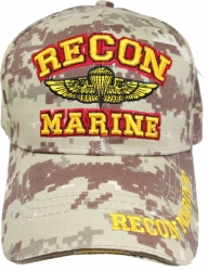 View Buying Options For The Recon Marine Wings Badge Sandwich Bill Mens Cap