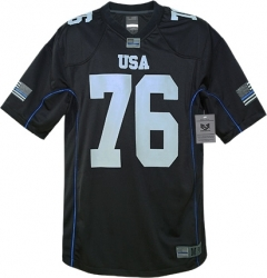 View Buying Options For The RapDom Thin Blue Line Graphic Mens Football Jersey