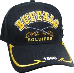 View Buying Options For The Buffalo Soldiers Swords 1866 On Bill Mens Cap