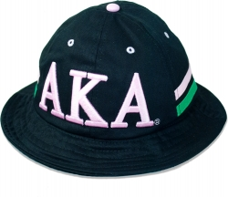 View Buying Options For The Big Boy Alpha Kappa Alpha Divine 9 S4 Ladies Bucket Hat