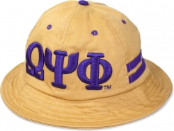 View Buying Options For The Omega Psi Phi Divine 9 S4 Mens Bucket Hat