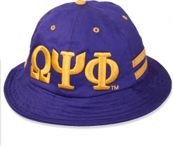 View Buying Options For The Big Boy Omega Psi Phi Divine 9 S4 Mens Bucket Hat