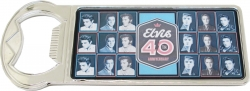 View Buying Options For The Elvis Presley 40th Anniversary Collage Bottle Opener Magnet