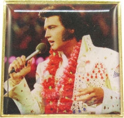 View Buying Options For The Elvis Presley Aloha Photo Epoxy Lapel Pin