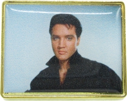 View Buying Options For The Elvis Presley Black Shirt Photo Epoxy Lapel Pin