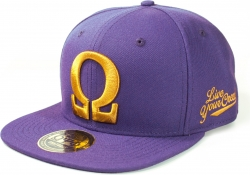 View Buying Options For The Omega Psi Phi Divine 9 Flatbill Mens Snap Back Cap
