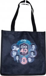 View Buying Options For The Elvis Presley 40th Anniversary Circle Small Tote Bag