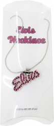 View Buying Options For The Elvis Presley Pink Rhinestone Ladies Necklace
