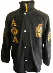 View Buying Options For The Buffalo Dallas Alpha Phi Alpha Fraternity Mens All-Weather Windbreaker Jacket