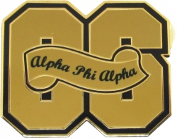 View Buying Options For The Alpha Phi Alpha 06 Founded Year Lapel Pin