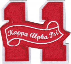 View Buying Options For The Kappa Alpha Psi 11 Founded Year Chenille Felt Sew-On Patch