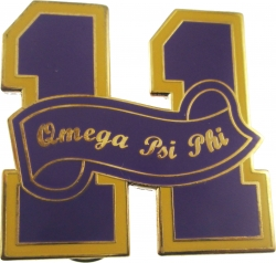 View Buying Options For The Omega Psi Phi 11 Founded Year Lapel Pin