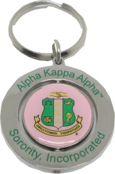View Buying Options For The Alpha Kappa Alpha Spinner Key Ring
