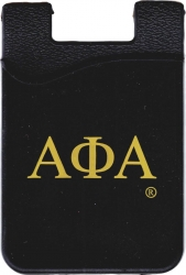 View Buying Options For The Alpha Phi Alpha Cell Phone Silicone Card Holder