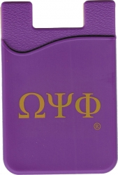 View Buying Options For The Omega Psi Phi Cell Phone Silicone Card Holder