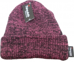 View Buying Options For The Chunky Mixed Knit Thinsulate Insulated Cuff Mens Beanie Cap