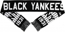 View Buying Options For The New York Black Yankees Baseball Mens Scarf