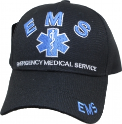 View Buying Options For The EMS 3D Logo Emergency Medical Service Mens Cap