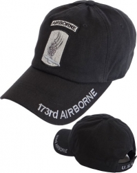 View Buying Options For The 173rd Airborne Tone-On-Tone Relaxed Cotton Mens Cap