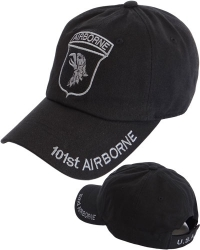 View Buying Options For The 101st Tone-On-Tone Relaxed Cotton Mens Cap