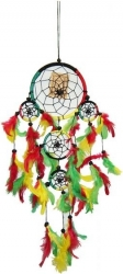 View Buying Options For The Rasta Five Rings Dream Catcher