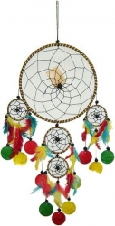 View Buying Options For The Large Five Rings Dream Catcher with Shells